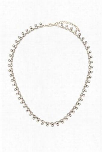 Rhinestoned Collar Necklace