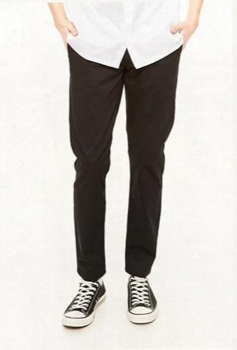 Slim-fit Twill Pants