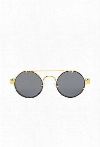 Spitfire Round Sunglasses