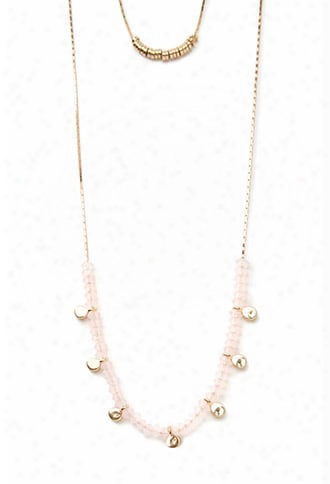 Stacked Charm Layered Necklace