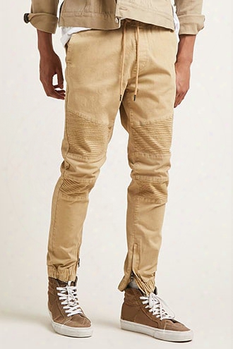 Zip-ankle Joggers