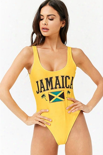 Jamaica Graphic One-piece Swimsuit
