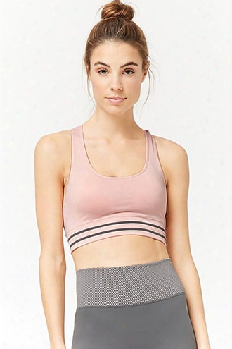 Low Impact - Striped Sports Bra