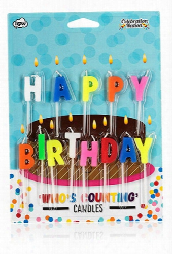 Npw Happy Birthday Candles
