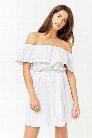 Geo Eyelet Dress