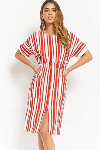 Woven Striped Dress