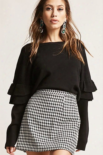 Billowy Tiered-sleeve Top