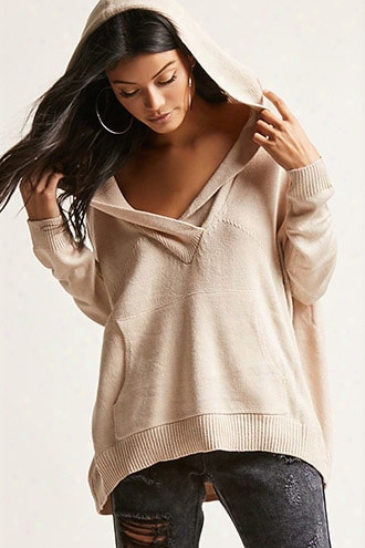 Hooded Knit Sweater