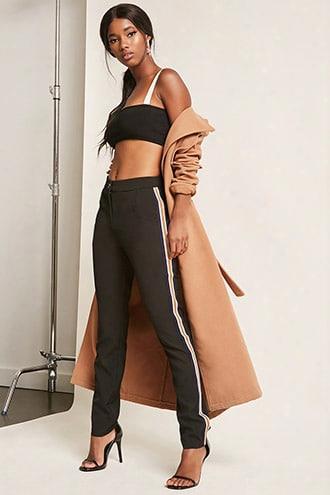 Side Stripe Skinny Trousers