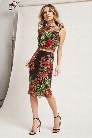Floral Crop Top & Skirt Set