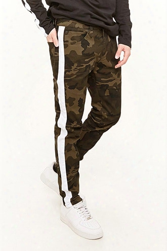 Victorious Side Stripe Camo Jeans