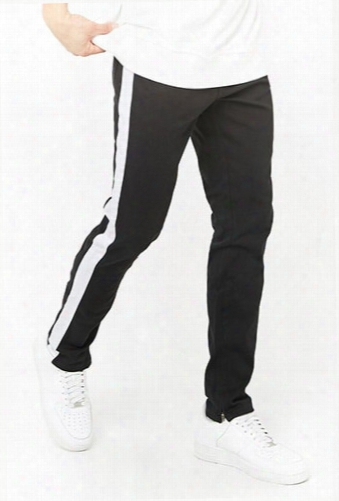 Victorious Side Stripe Denim Pants