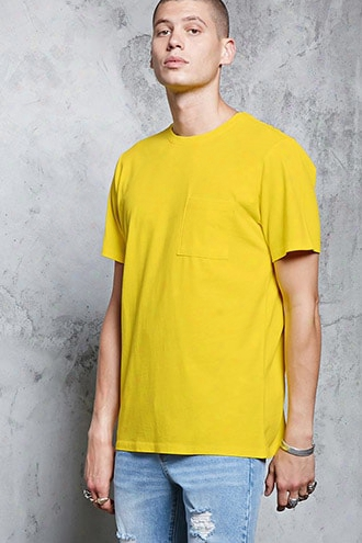 Chest Pocket Cotton Tee