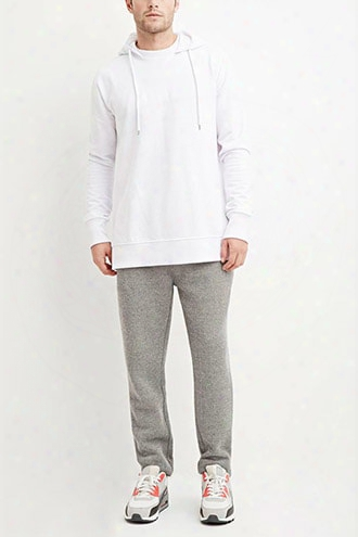 Drawstring Textured Knit Joggers