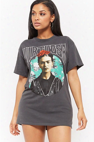 Frida Kahlo Virtuosa Graphic Tee