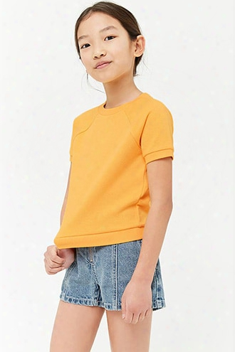 Girls French Terry Knit Top (kids)