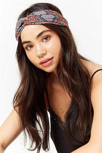 Ornate Twist-front Headwrap