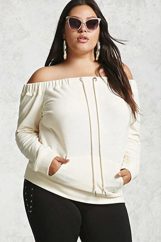 Plus Size Active Pullover Top