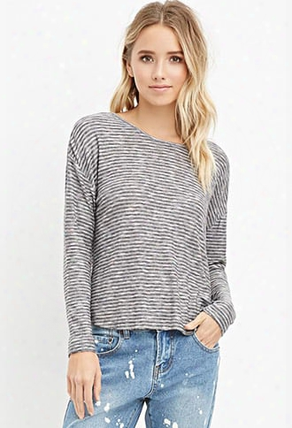 Striped Loos E-knit Top