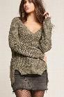 Pinhole Ribbed Sweater