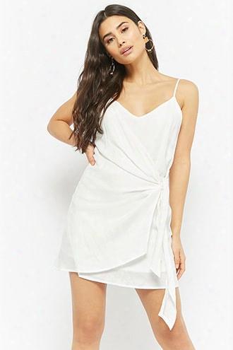 Wrap-front Cami Dress