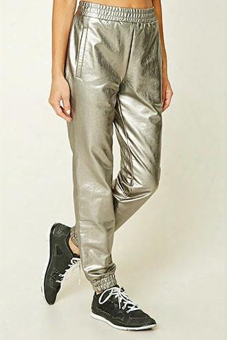 Active Metallic Pants