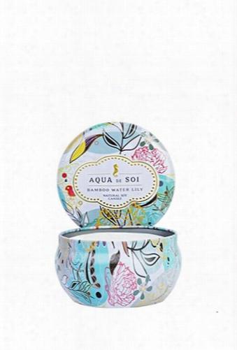 Aqua De Soi Water Lily Candle