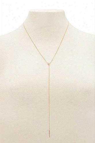 Drop Chain Matchstick Necklace
