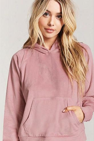 Fleece Knit Pajama Hoodie