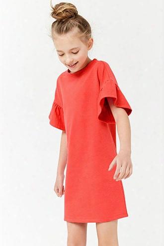 Girls Ruffle Dress (kids)
