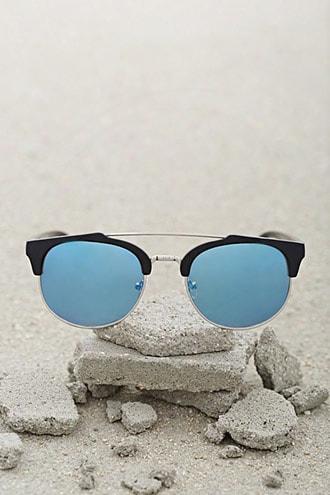 Men Browline Orund Sunglasses