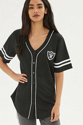 Nfl Raiders Baseball Jersey