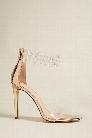 Bejeweled Ankle-Strap Heels