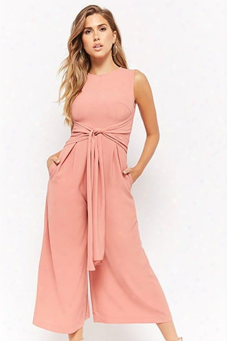 Tie-fro Nt Culotte Jumpsuit