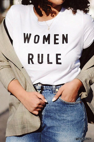 Women Rule Graphic Tee