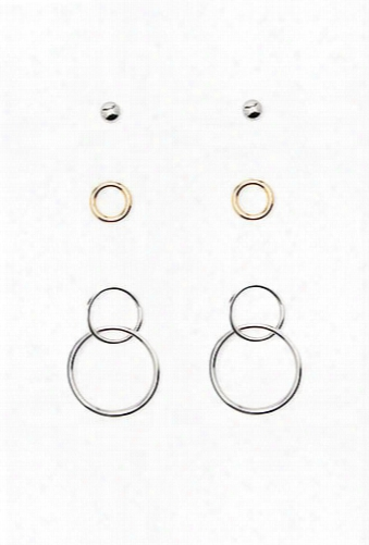 Circle Earring Set