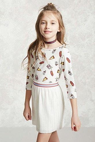 Girls Accordion Skirt (kids)