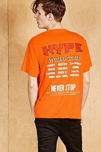 Hype Means Nothing Tour Tee