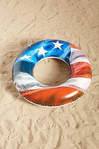 Pool Candy Us Flag Pool Tube
