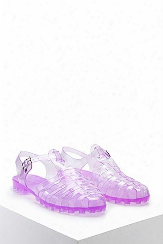 Strappy Jelly Sandals