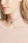 Crochet Heart Locket Choker
