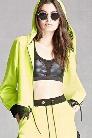 Ing2Ing Neon Lace Hem Jacket