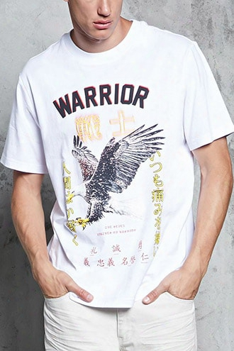 Warrior Eagle Graphic Tee