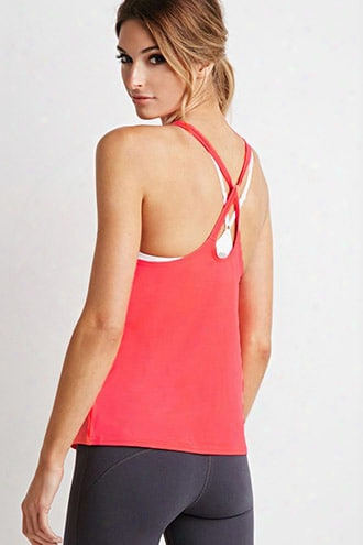 Active Knotted Cutout-back Tank