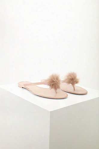 Dizzy Pom Pom Jelly Sandals