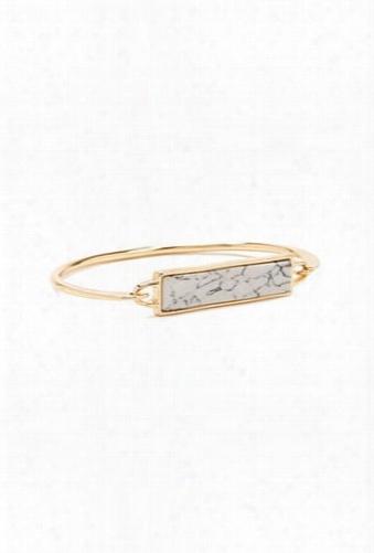 Faux Marble Bracelet