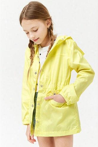 Girls Hooded Windbreaker (kids)