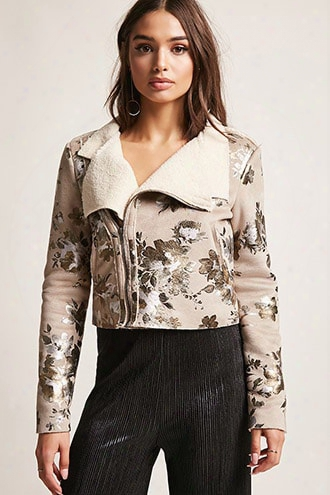 Goldie London Faux Suede Jacket
