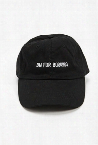 Hat Beast Dm For Booking Graphic Dad Cap