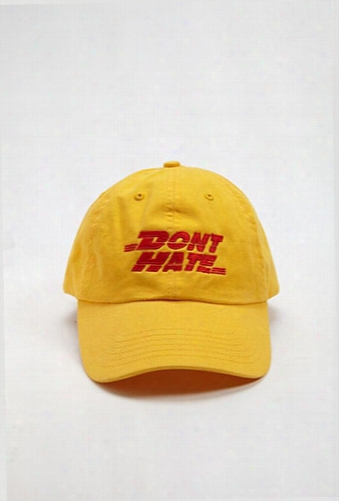 Hat Beast Dont Hate Dad Cap